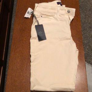 NYDJ cream color leggings